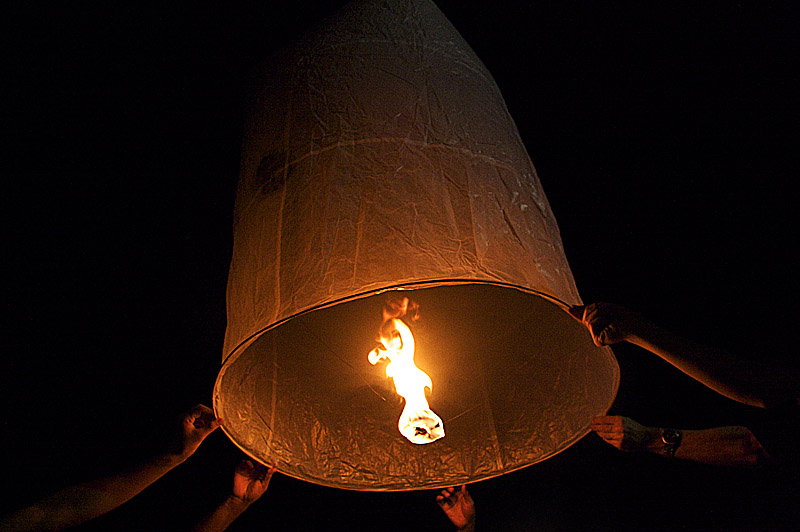 Đèn Khổng Minh, nguyên lý hoạt động và cách làm đèn trời