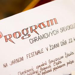2012-04-22 Jarny festival chramovych zborov v Zdani
