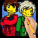 How To Draw Ninja icon