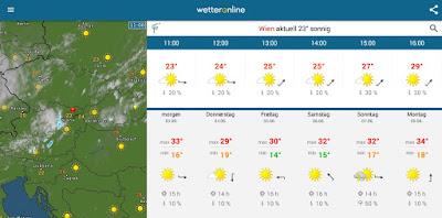 Wettertrend: Die gesamte Woche, somit auch das lange Wochenende werden hochsommerlich heiß!