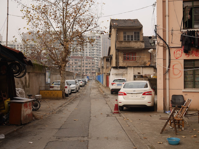 Lane north of Tianshan Road