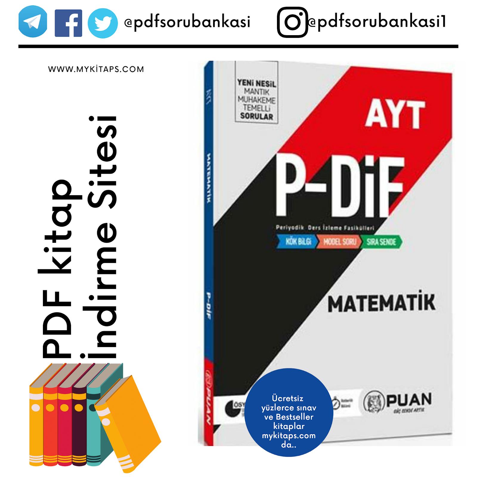 AYT Matematik PDİF Konu Anlatım Fasikülleri