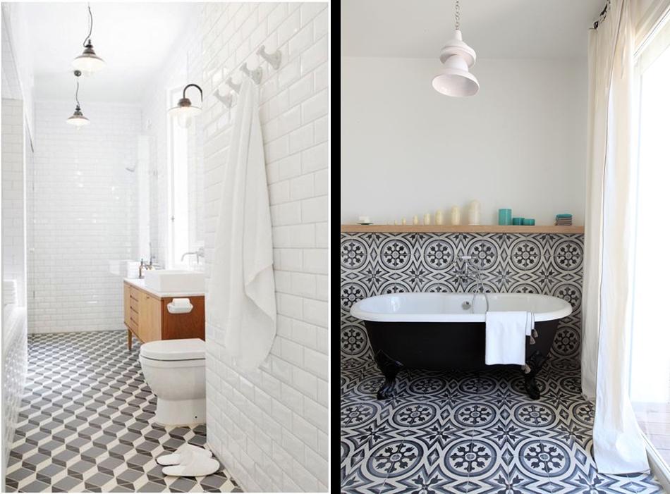 carrelage salle de bain pinterest. Black Bedroom Furniture Sets. Home Design Ideas