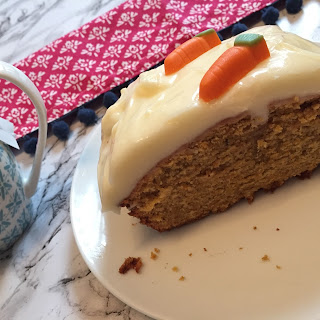 Basic Carrot Loaf Cake with Cream Cheese Icing Recipe