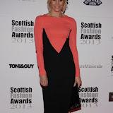 WWW.ENTSIMAGES.COM -   Jenni Falconer    at    Scottish Fashion Awards  at 8 Northumberland London October 9th 2013                                                 Photo Mobis Photos/OIC 0203 174 1069