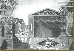 severini, scena per un balletto con musiche dalla Scarlattiana di Casella
