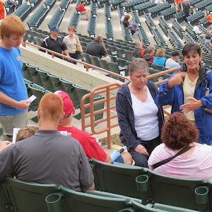 August 25, 2012 St. Matthews Family Night at Baysox Stadium