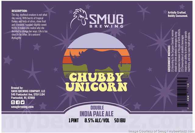 Smug Brewing Working On Chubby Unicorn DIPA Cans