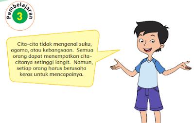 Kunci Jawaban Buku Kelas 4 SD Pembelajaran 3 Tema 6 Subtema 3