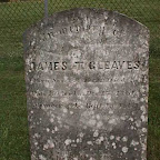 James T. Gleaves The Gleaves Family Cemetery Cripple Creek, Wythe County, Virginia