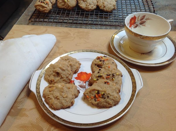 Serve with your favorite beverage, milk, coffee or tea. Enjoy these cookies they're delicious.