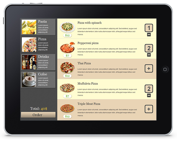 Ipad Restaurant Menus And Virtual App Menus Are Coming To