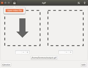 convertir video a gif - seleccionar vídeo