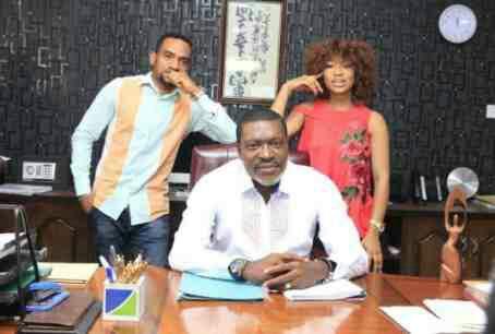After 4 years away, Tonto Dikeh returnsto Nollywood (Photos)