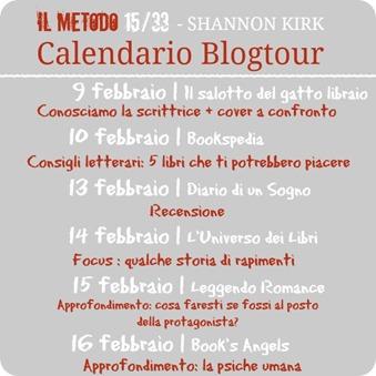 Calendario Blogtour