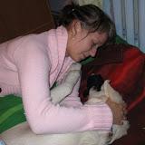 Zabawa pingłinem i mamą (17.08.2008r.)