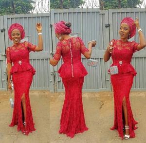 Nigeria Fashion Trends Asoebi Style 2016 2017 Fashionte