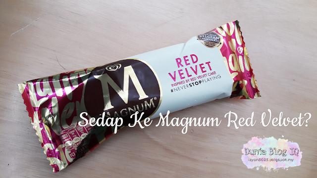 Sedap Ke Magnum Red Velvet?