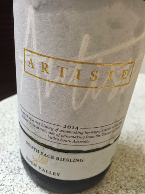 Artiste South Face Eden Valley Riesling 2014