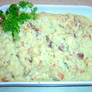 Twice-Cooked Irish Cheddar Potatoes