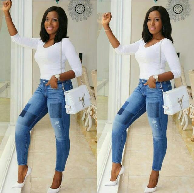 Popular Blogger Linda Ikeji Shares her Throwback Photo Since 1987