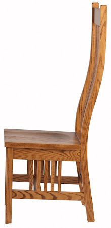 Vail Chair in Cinnamon Quarter Sawn Oak