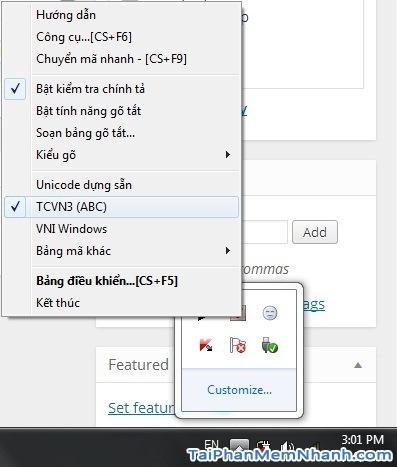 Cách chuyển sang gõ font Tiếng Việt ABC từ Unikey