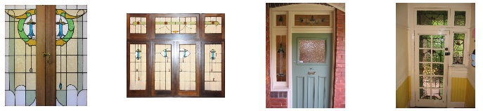 Artarmon NSW, examples of Transition style leadlight doors