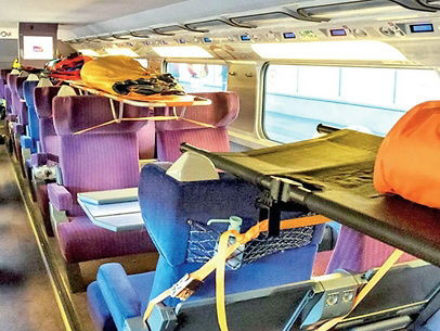कोरोना से जंग / फ्रांस ने हाईस्पीड ट्रेन को एंबुलेंस के रूप में बदला, ट्रेन एक घंटे में 300 किमी का सफर तय करती है