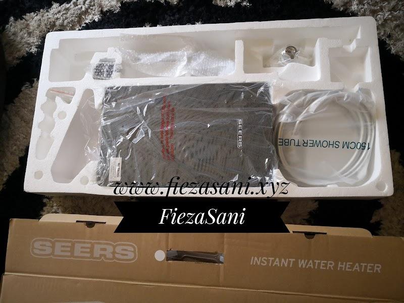 Seers Instant Water Heater Pilihan Menjimatkan & Selamat