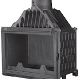 PANTHERM 68 RAVNI lateral dim. 680x500 promjer dimovodne cijevi: fi150/fi200 težina ložišta:135 kg