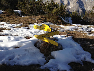 Ein garantiert schneesicherer Wegweiser