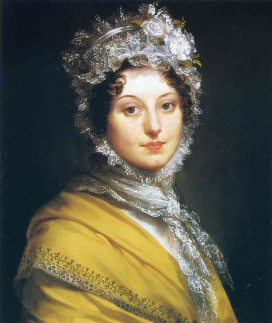 Proudhon Pierre Paul - Portrait of Louise de Gueheneuc