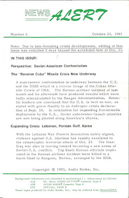 """Peter Beter News Alert 7: The """"Mayaguez Strategy"""" for Invasion of Grenada & The Campaign to Control What Americans Know"""