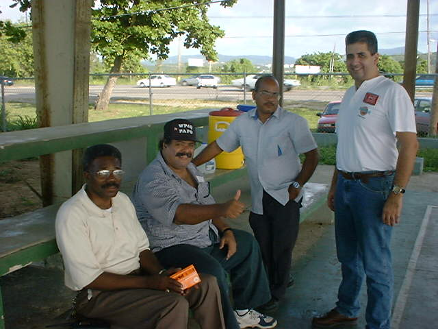 KP4FLP - PEDRO, WP4Q - PAPO, KP4SQ - PEDRO AND