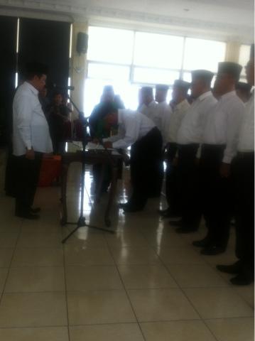 Rombak 15 Jabatan Kepala SKPD, Walikota Mojokerto : Harus Tancap Gas
