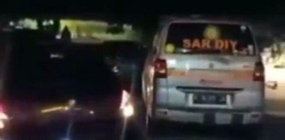 Perusak Ambulans Ditangkap, Motifnya Kesal Karena Bunyi Sirene