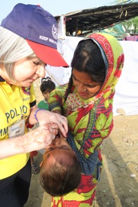 Pat Vaccinating in Ragpickers