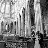 Newly weds in St.Vitus Cathedral