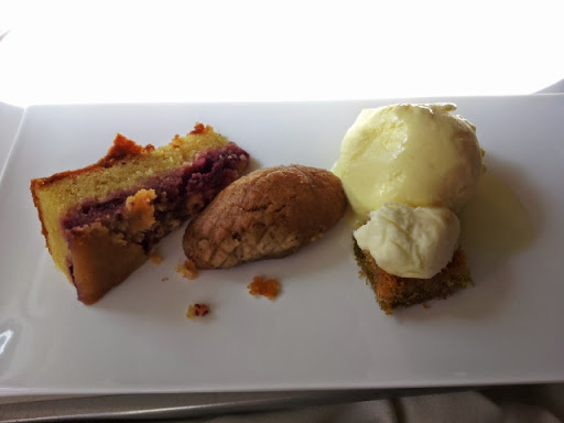Dessert! From What's It Really Like to Fly Turkish Airlines Business Class?