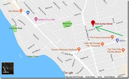 844 Archer st map