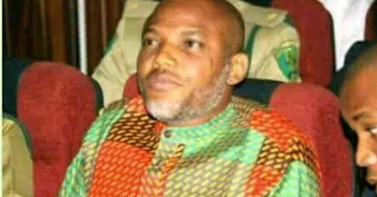 ASO-ROCK ON FIRE!!! AS NNAMDI KANU SENDS PRESIDENT BUHARI A MESSAGE.... SEE