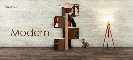 modernes kratzbaum design f r jede wohnung. Black Bedroom Furniture Sets. Home Design Ideas