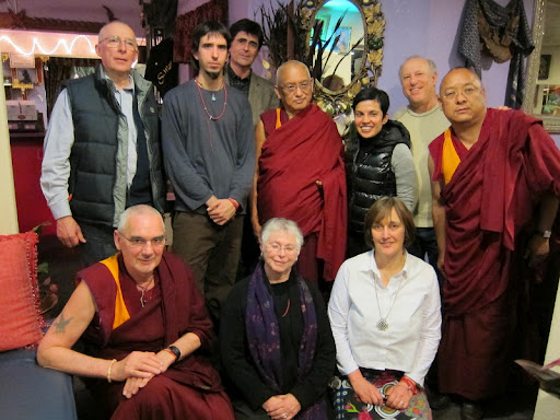 FPMT Board of Directors in California, USA February 2011