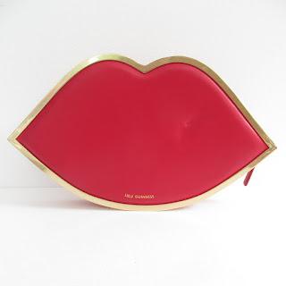 Lulu Guinness Red Lips Clutch