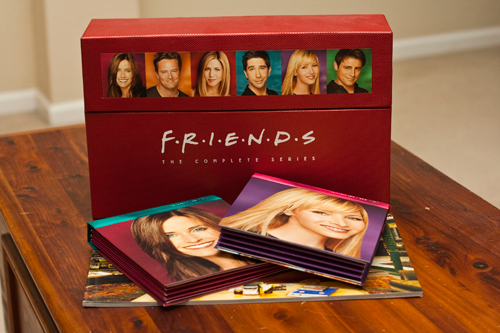 Friends Series DVDs