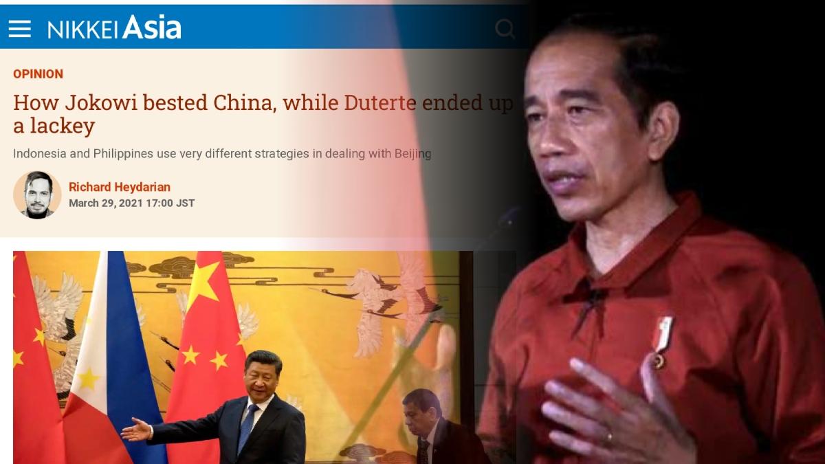 Kecerdikan Jokowi Mampu 'Mempermainkan' China, Ketika Duterte Bersikap Naif