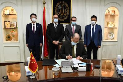 مذكرة تفاهم مع الشركة الصينية لإدارة وتشغيل المنطقة المركزية بالعاصمة الإدارية