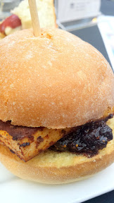 BBQ Tofu Slider with Fig Compote by EastBurn