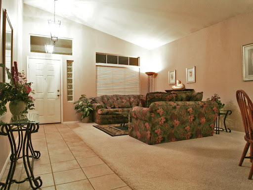 Houses for sale in Chandler AZ: Living room